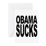 Obama Sucks Greeting Cards (Pk of 10)