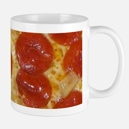 big pepperoni pizza Mugs