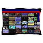 C64 Game Screens Pillow Case