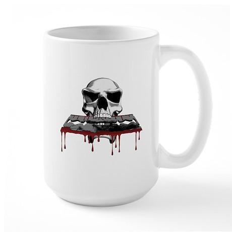 Skull Razorblade Large Mug
