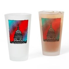 United States Capitol Building Drinking Glass