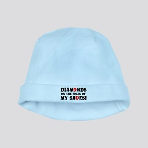 DIAMONDS ON THE SOLES OF MY SHOES! Baby Hat