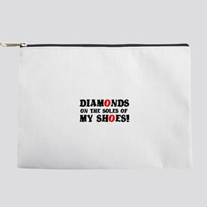 DIAMONDS ON THE SOLES OF MY SHOES! Makeup Bag