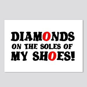 DIAMONDS ON THE SOLES OF Postcards (Package of 8)