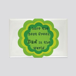 green father's day t-shirt Rectangle Magnet