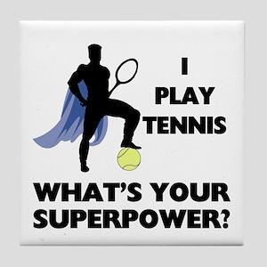 Tennis Superpower Tile Coaster