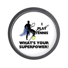 Tennis Superpower Wall Clock