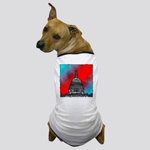 United States Capitol Building Dog T-Shirt