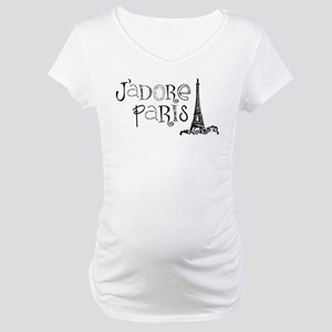 J'adore Paris Maternity T-Shirt