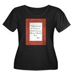 hugfromgod12.png Plus Size T-Shirt