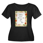 hugfromgod4.png Plus Size T-Shirt