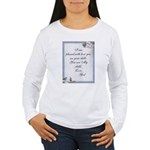 hugfromgod1.png Long Sleeve T-Shirt