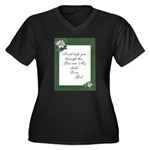 hugfrom god.png Plus Size T-Shirt