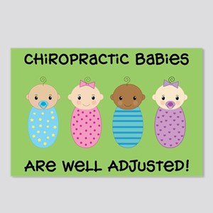 Chiropractic Babies Postcards (Package of 8)