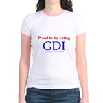 Voting GDI Jr. Ringer T-Shirt