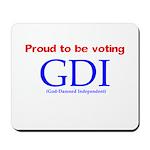 Voting GDI Mousepad