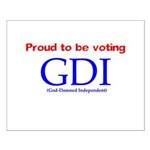 Voting GDI Small Poster