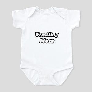 """""""Wrestling Mom"""" Infant Bodysuit"""