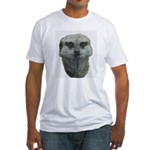 Meerkat Fitted T-Shirt