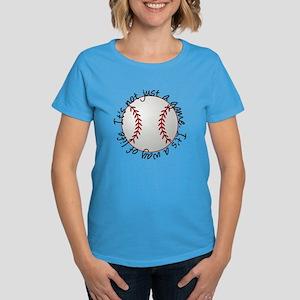 Baseball for Life Women's Dark T-Shirt