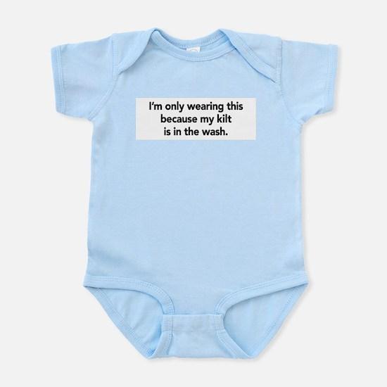 Kilt Infant Bodysuit