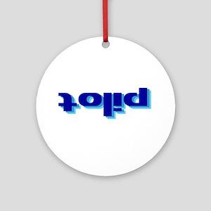 Inverse Pilot Ornament (Round)