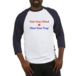 Vote Your Mind Baseball Jersey