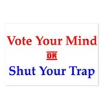 Vote Your Mind Postcards (Package of 8)