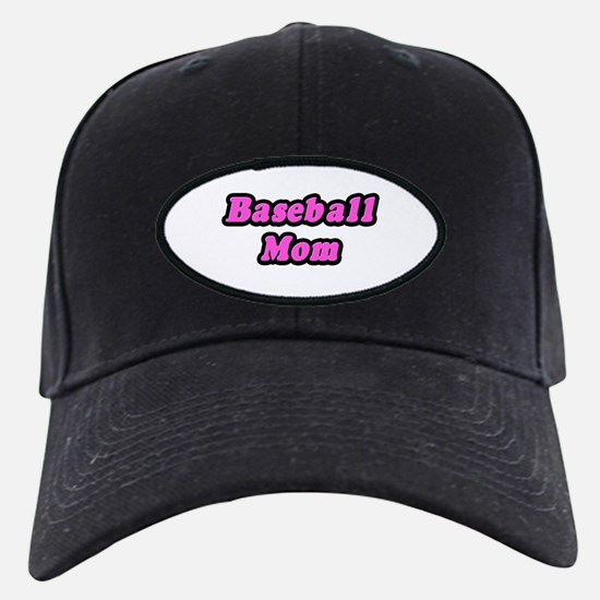 """Baseball Mom (Pink)"" Baseball Hat"