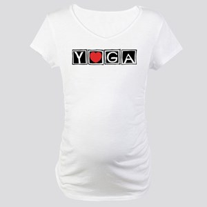 Love Yoga Maternity T-Shirt