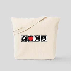 Love Yoga Tote Bag