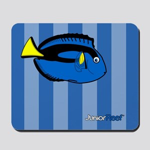 Blue Tang Blue Stripe Mousepad