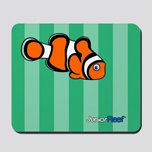 Clownfish Green Stripe Mousepad