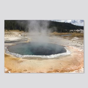 Geyser at Yellostone Postcards (Package of 8)