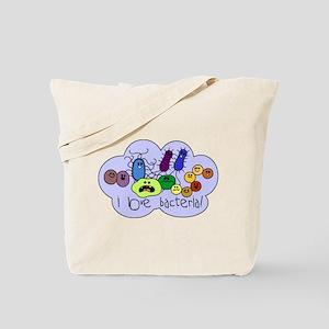 I Love Bacteria Tote Bag