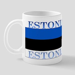 Estonia Estonian Flag Mug