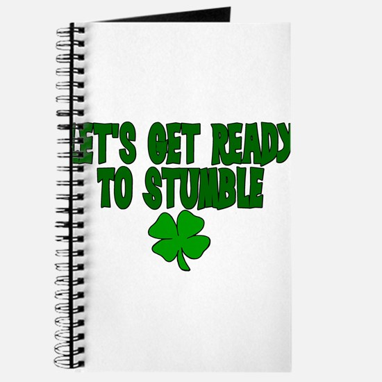 Cute Lets get ready stumble Journal