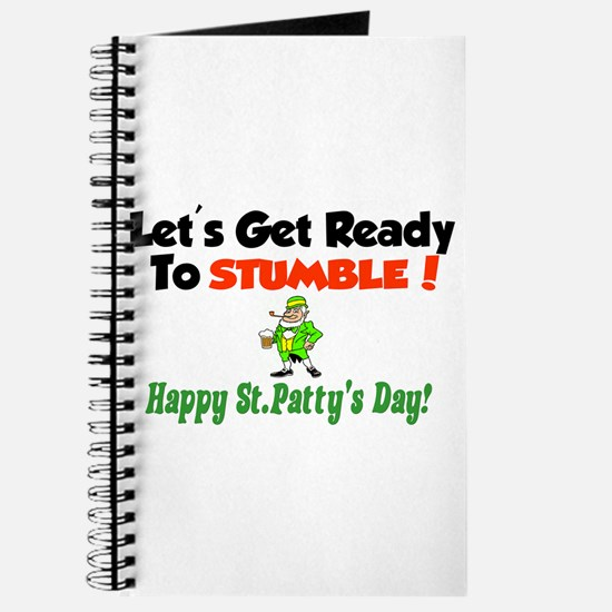 Funny Lets get ready stumble Journal
