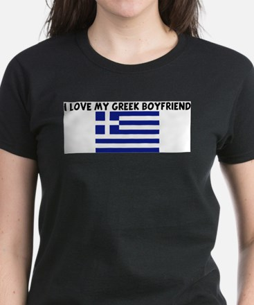I LOVE MY GREEK BOYFRIEND T-Shirt