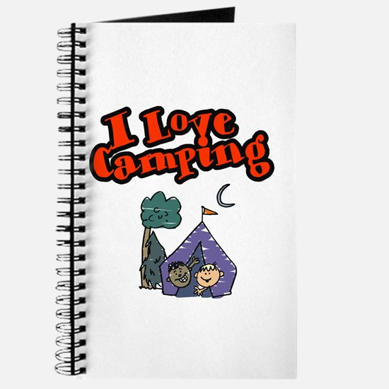 Unique Girls camping Journal
