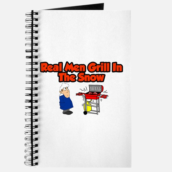Funny Mens bbq Journal