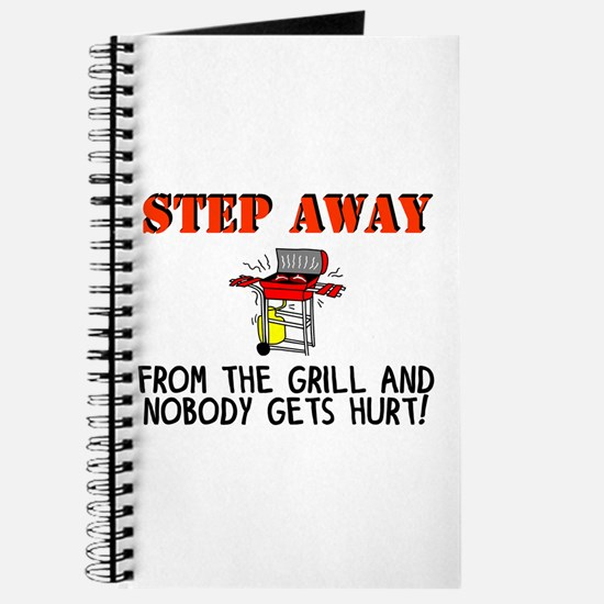 Cute Mens bbq Journal