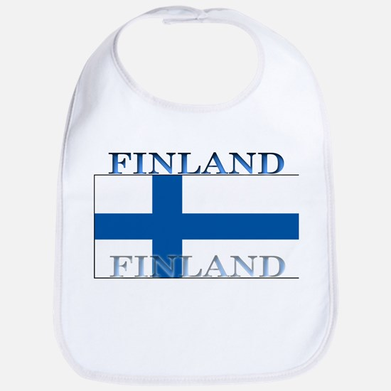 Finland Finish Flag Bib