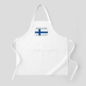 Finland Finish Flag BBQ Apron