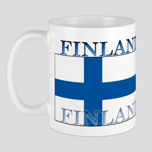 Finland Finish Flag Mug