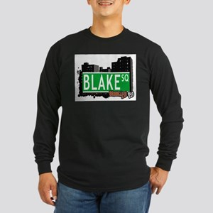 BLAKE SQUARE, BROOKLYN, NYC Long Sleeve Dark T-Shi