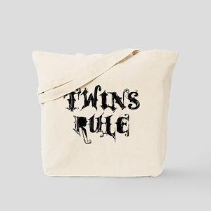 TWINS RULE Tote Bag