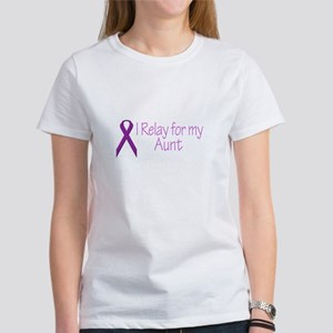 I Relay for my Aunt Women's T-Shirt