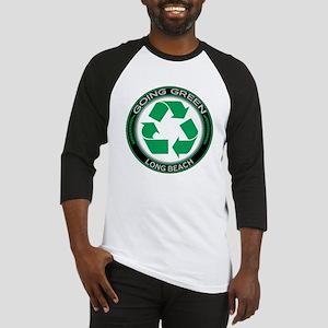 Going Green Long Beach Recycle Baseball Jersey