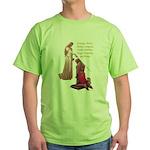 Nine Words Green T-Shirt